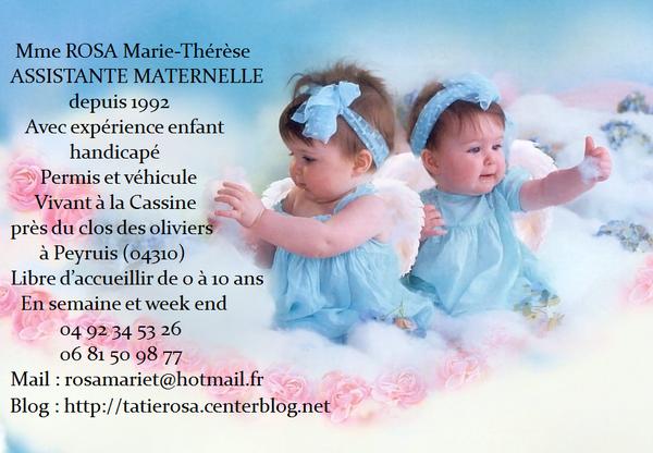 Assistante Maternelle TatieRosa